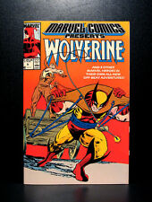 COMICS: Marvel Comics Presents #5 (1988), Wolverine/Man-Thing/Shang Chi/DD
