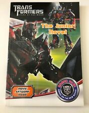 NEW Transformers 3 Novelisation book Paperback 2011 Free Postage & Tracking