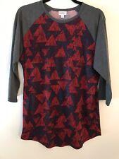 LuLaRoe Randy T baseball style shirt size Lg Nwt