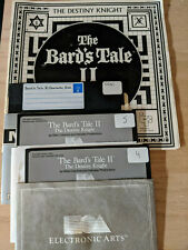 """The Bard's Tale II Commodore 64 - includes manual C64 5.25"""" floppy"""