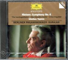 NIELSEN: SYMPHONY N°4 - SIBELIUS: TAPIOLA KARAJAN BERLINER - CD NUOVO SIGILLATO