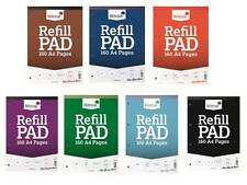 Silvine A4 Refill Pad 160 Pages (Ruled, Plain, Graph and Squares)