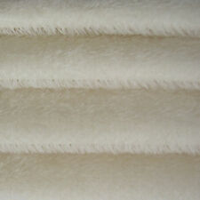 "1/6 yd 300S White INTERCAL 1/2"" Ultra-Sparse German Mohair Fur Fabric"