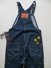 Levi's SUPER MARIO Latzhose Latz Jeans Gr. S, W 32 /L 32, NEU ! Indigo Overall !