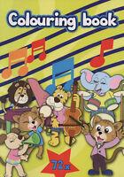 Colouring Book-Malbuch für Kinder - Löwe, Tiger, Nilpferd  und viele andere #143