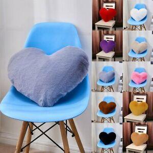 Luxury Soft Fleece Cushion Plush Fur Rabbit Fur Pillow Cushion Cover Pillowcase