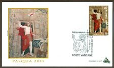 Vatican City Sc# 1648: Easter 2017 on FDC