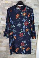 Hobbs Ladies Size 8 Floral Long Sleeve Dress