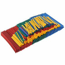 260x Heat Shrink Heatshrink Wire Cable Tubing Tube Sleeving Wrap Kit ISO9001 UL