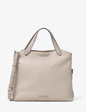 New Authentic Michael Kors Hyland Small Leather Satchel Shoulder/CrossBody Bag