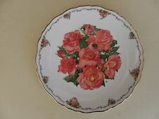 Royal Albert Bone China Plate Queen Mother Favourite Flowers Elizabeth of Glamis