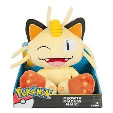 "Pokemon - Meowth 12"" DELUXE PLUSH TOY Authentic *NEW* RARE SALE!!!"