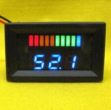 Battery Capacity Volt Meter 48V DC Lead Acid LED Indicator Tester Solar Golf Car