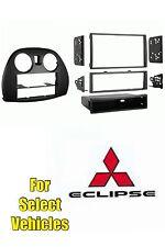 06-12 Mitsubishi Eclipse Single/Double Din Car Stereo Install Radio Dash Kit