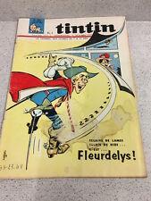 TINTIN  N°907 18e ANNEE  10 MARS 1966 REVUE MAGAZINE VINTAGE