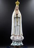 "Catholic Holy Our Lady Of Rose Fatima Virgin Mary Madonna Statue Figurine 16"""