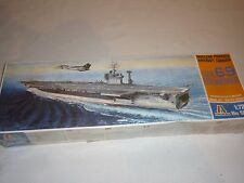 Italeri Un Made plastic kit of a the aircraft carrier EISENHOWER, sealed box