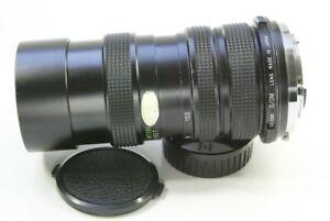 Vivitar 70mm - 150mm MACRO Zoom OLYMPUS OM  BAYONET  FITTING Made In Japan