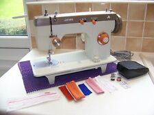 JONES BROTHER 675 DROP FEED HEAVY DUTY Z/ZAG SEWING MACHINE,EXPERTLY SERVICED