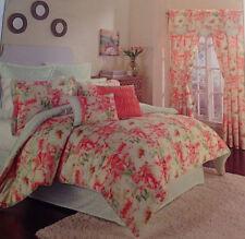 Waverly Fresh Pickled Petal 4pc QUEEN Comforter Set Shams Bedskirt NEW FLORAL