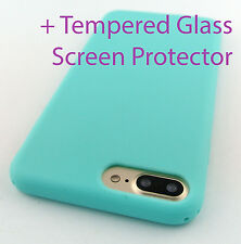 TURQUOISE TPU SKIN CASE COVER FOR APPLE IPHONE 7 PLUS