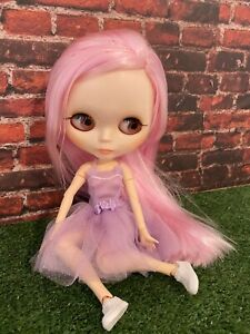🛍️ Blythe Doll Jointed Body, Meet Pink
