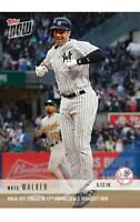 2018 Topps NOW MLB 205 Neil Walker Walk-Off Single in 11th Inning Yankees Win