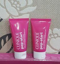 Clinique PEP-START 2-in-1 Exfoliating Cleanser Face Wash & Scrub Mini 30ml x 2