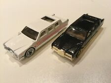 1990 Hotwheels Cadillac Limos lot 2 great condition