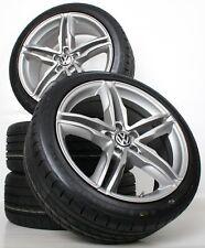 NEU für VW Tiguan I 5N 17 Zoll Alufelgen Anthracite WH11 Winterkompletträder