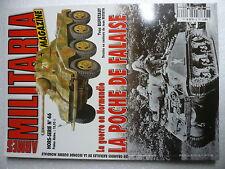 MILITARIA H S n° 46 La guerre en NORMANDIE. La poche de FALAISE