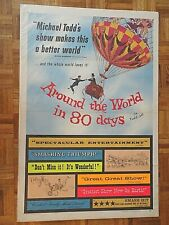 David Niven, Shirley Maclaine Around World In 80 Days 1956 Ua Todd-Ao One Sheet