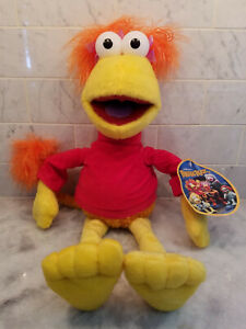 "NANCO / HIT Jim Henson Fraggle Rock Red - Stuffed Plush 20"" - New with Tags"
