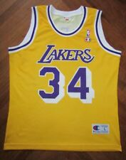 canotta SHAQ O'NEAL LOS ANGELES LAKERS NBA Jersey Trikot Basket maillot maglia