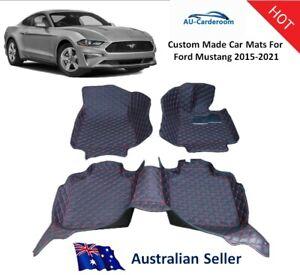 Ford Mustang 2015-2021 Full Surrounded Custom Tailored Car Floor Mats/Carpets