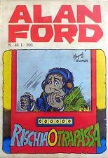 ALAN FORD N.46 1973 MAGNUS BUNKER CORNO EDITORE FUMETTO