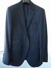 New HACKETT LONDON navy English Plain Wool Suit CHELSEA jacket 40R/50R RRP 400