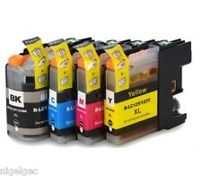 BROTHER SET OF 4 LC123 Compatible Ink Cartridge For DCP J4110DW J132W J152W