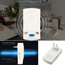 Electronic Plug In Ultrasonic Pest Control Repeller Mosquito Rat Insect Device