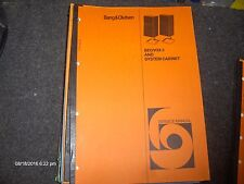Beovox 3 Service Manual including MS150.2, M150.2, MC120.2, S80.2, S45