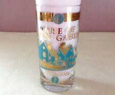 House Of Seven Gables Collectible Glass Salem Massachuttes Vintage