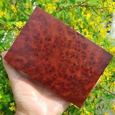Exotic Wood Block Blanks Carving Amboyna Burl Lumber Knife Scale Gun Grips #2