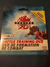 Bakugan Battle Training DVD ToysRUs exclusive strategies