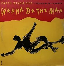 Earth Wind And Fire   Featuring Mc Hammer  Wanna Be The Man   vinyl  LP