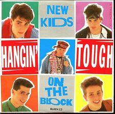 NEW KIDS ON THE BLOCK - HANGIN' TOUGH - CARDBOARD SLEEVE CD MAXI