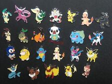 50pcs anime cartoon pikachu Enamel Metal Charms Pendants DIY Jewelry Making P25