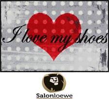 "Paillasson 50 x 75 cm Paillasson lavable Efia "" I Love My Chaussures "" NEUF"