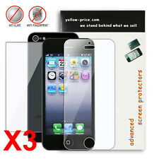 6x Front & Back Anti-Glare Screen Protector Apple® iPhone® 5 - 3 Front / 3 Back
