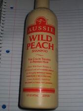 (1) AUSSIE WILD PEACH SHAMPOO FOR COLOR TREATED/PERMED HAIR~RARE DISCONTINUED