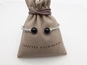David Yurman Solari Bracelet with Diamonds and Black Onyx size Small